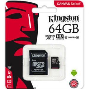 Kingston 64GB Micro SD