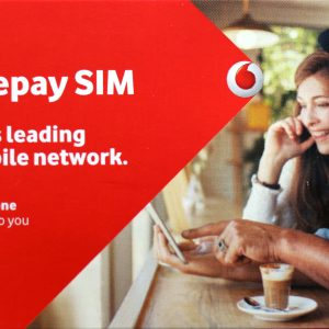 Withdraw Vodafone sim card