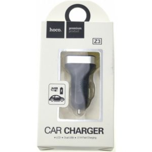hoco. DUAL PORT 3.1A FAST CAR CHARGER Z3
