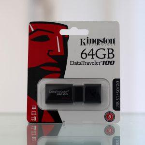 Kingston 64GB Data Traveler 100 G3