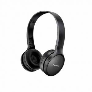 Panasonic RP-HF410BE-W On-Ear Wireless Bluetooth Headphones - Black