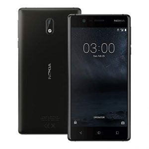 Nokia 3 Black 13MP Rear Camera Fully Unlocked