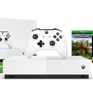 Xbox One S 1TB All-Digital Console with Minecraft, Sea of Thieves & Forza Horizon 3 Games