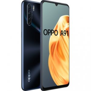 OPPO A91 Lightening Black Smartphone With NZ Warranty