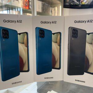 Samsung Galaxy A12 (2021) Dual SIM Smartphone 4GB+128GB